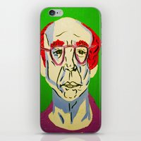 larry david iPhone & iPod Skins featuring Larry David 2 by Alyssa Underwood Contemporary Art