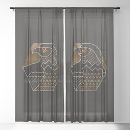Earth Guardian Sheer Curtain