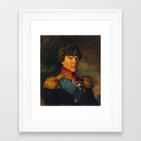 benedict Framed Art Prints featuring BENEDICT by John Aslarona