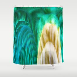 420 - Abstract Colour Design Shower Curtain