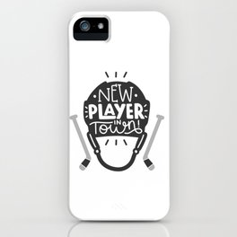 New player in town iPhone Case