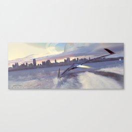 MANTA 3  Canvas Print