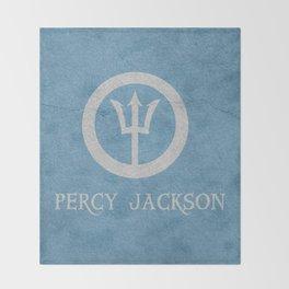 Percy Jackson Throw Blanket