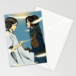 Leia's Message Stationery Cards