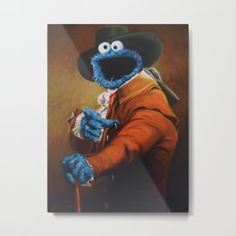 Monster Ducookie Metal Print
