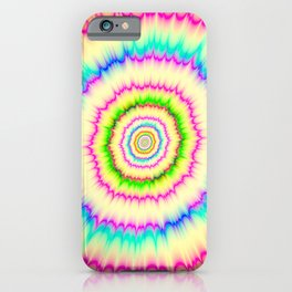 Blasted Colors iPhone Case