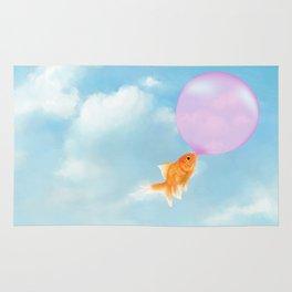 Goldfish Vacation Rug