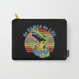 No Ramen No Life Dinosaur Carry-All Pouch