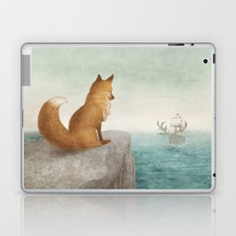The Day the Antlered Ship Arrived Laptop & iPad Skin