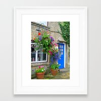 england Framed Art Prints featuring England by Emilycas