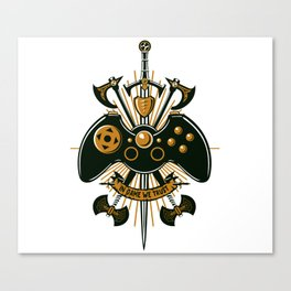 In Game We Trust Canvas Print
