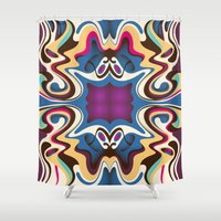 trip Shower Curtains featuring Trip by Cs025