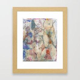 Tension And Violence Framed Art Print