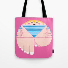 I can jump on one leg Tote Bag
