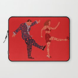 I'll never tell typography Laptop Sleeve