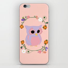 Owl Watch Over You iPhone Skin