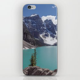 Lake Moraine Top View iPhone Skin