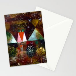 Paul Klee Night Feast Stationery Cards