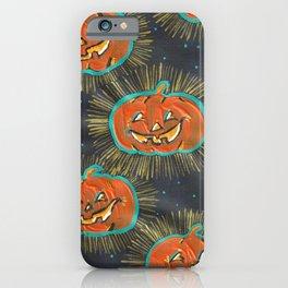 Glowing Jacks iPhone Case