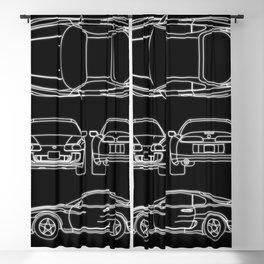Supra Mk 4 Blackout Curtain