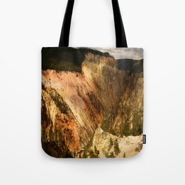 Yellow Rocks Of The Yellowstone Valley Tote Bag