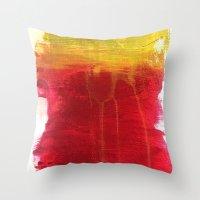 dexter Throw Pillows featuring Dexter. by Raphael Maturine