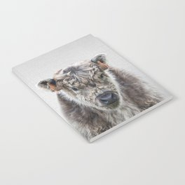 Fluffy Cow - Colorful Notebook