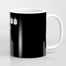 unicorn Be Iconic I am Extraordinary Special One Coffee Mug