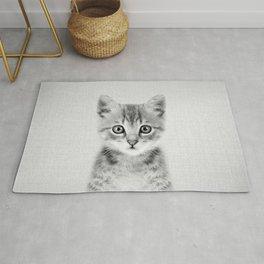 Kitten - Black & White Rug