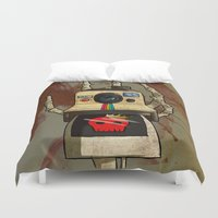 polaroid Duvet Covers featuring Vintage Polaroid by Bloody Kingdom