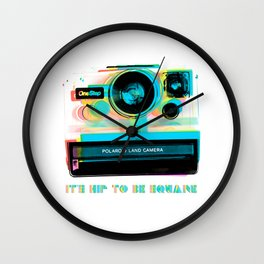 It's Hip To Be Square - Alternative Wall Clock