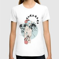 boxer T-shirts featuring boxer by Natasha Aldred