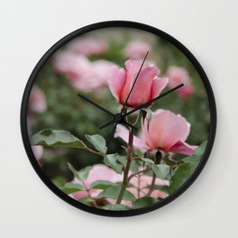 Never-ending roses Wall Clock