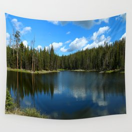 Tranquil Morning At Gull Point Drive Wall Tapestry