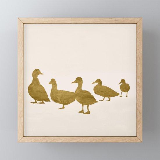 Golden Ducks by flowline