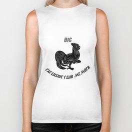 Big cock exclusive club member Biker Tank
