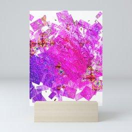 """""""Butterflies And Confetti"""" Mini Art Print"""