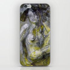 Nude in Yellow iPhone Skin