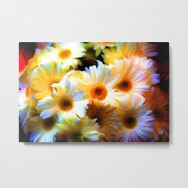 Flower Art For Metal Print