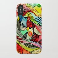 karma iPhone & iPod Cases featuring karma by sylvie demers