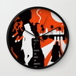 Hardboiled :: Farewell My Lovely :: Raymond Chandler Wall Clock