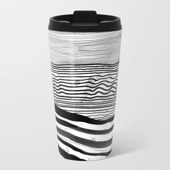 Pattern 22 Metal Travel Mug