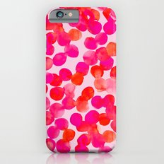 Pink Spots Slim Case iPhone 6s