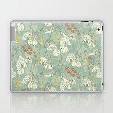 arctic retro Laptop & iPad Skin