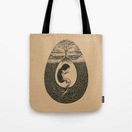 Natural Birth Tote Bag