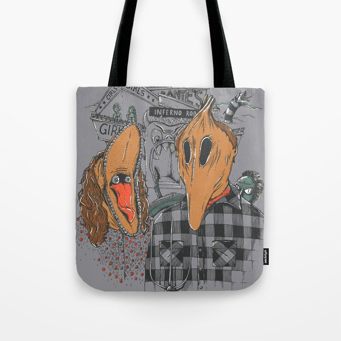 Beetle Gothic - A portrait of the recently deceased Tote Bag