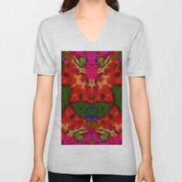 Faces and feelings ... Unisex V-Neck
