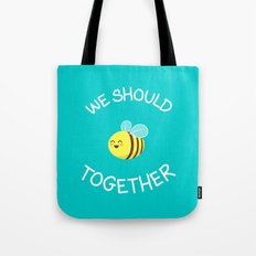 A bug's love life Tote Bag