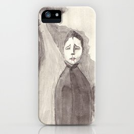 Waiting After Nightfall iPhone Case