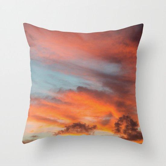 SIMPLY SKY Throw Pillow